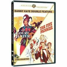 Danny Kaye : The Court Jester / Five Pennies   (DVD) UK Compatible - sealed