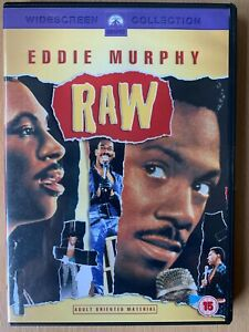 Eddie Murphy Raw DVD 1987 Concert Movie Stand Up Comedy Feature Film Classic