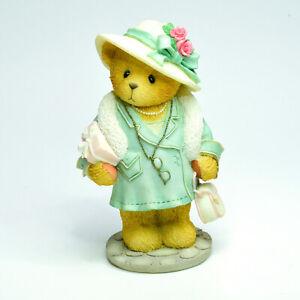 Cherished Teddies Eleanor P Beary CT971 Membears Only Figure 1997 Resin Figurine