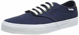 VANS Skateboarding Shoes CAMDEN Lace Up Navy / White Sizes: UK 6, 7, 8