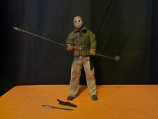 NECA Jason Voorhees Friday the 13th Part 6 Lives Retro Cloth LOOSE Broken knife