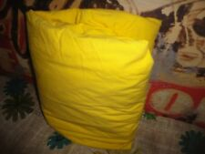 """RALPH LAUREN VERY BRIGHT YELLOW KING FITTED SHEET 15"""" 100% COTTON"""
