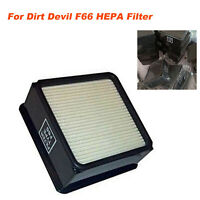 HEPA Filter/Foam Spare Accessories Kit For Dirt Devil F66 UD70100 UD70105 Vacuum