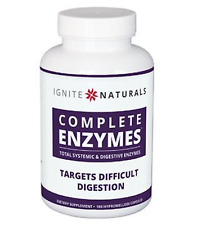 #1 DIGESTIVE ENZYMES FOR IBS, GAS, BLOATING, DIARRHEA, NUTRIENT ABSORPTION 180CT