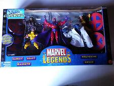 Marvel Legends Box Set Gambit Beast Wolverine Magneto Rogue NEW