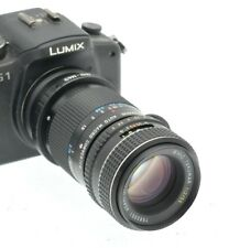 M43 MICRO 4/3 Fit 50mm PORTRAIT / MACRO LENS for PANASONIC LUMIX- OLYMPUS PEN