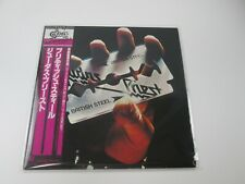 JUDAS PRIEST BRITISH STEEL EPIC 25 3P-208  with OBI Japan VINYL  LP