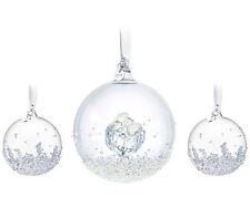 Authentic Swarovski Christmas Ball Ornament Set 2016 5223282