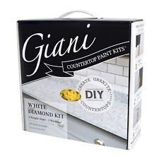 Giani Countertop Paint Kit, White Diamond