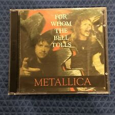 Metallica - Live 1989 For Whom The Bell Tolls Tour - 2 CD Set - Very Rare - Lars