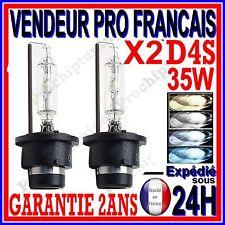 2 AMPOULES AU XENON D4S 35W HID LAMPE FEU PHARE EN LUMIERE BLANCHE BLEU BLEUTEE