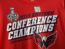 NEW 2018 Conference Champions Washington Capitals Mens 2XL Roster Fanatics Shirt