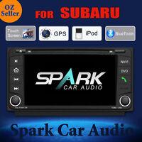 AD GPS DVD SAT NAV BLUETOOTH USB FOR SUBARU IMPREZA FORESTER XV 2008-2014
