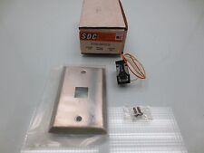 SDC Security Door Controls Push Switch Model: 402U FINISH 630