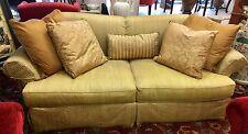 Henredon Custom Sofa With Down/Duck Cushions and Custom Five Pillows
