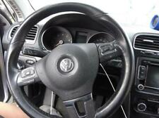 2012 Volkswagen Jetta Steering Wheel, BLACK, WHEEL ONLY, No Safety Bag