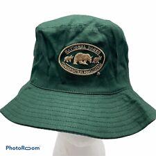 National Parks Conservation Association Green Cotton Bucket Hat Bears