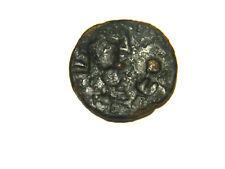 Rare, Kushan, Kabul Valley, bronze 3.7g, VF. Local imitation of Kujula Kadphises