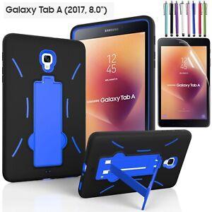 """Galaxy Tab A 8.0 case Hybrid Heavy Duty Kickstand Case For Tab A 8"""" SM-T380/T385"""