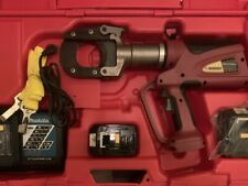 Burndy Patriot Patcut245Li battery powered hydraulic Cable wirecutter No Reserve