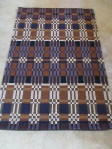 Multicoloured handmade rug - 143cm x 96cm - new