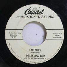 50'S & 60'S Promo 45 Big Ben Banjo Band - I.O.U. Polka / Anna Lisa On Capitol