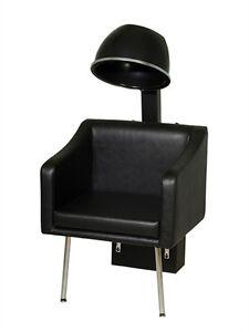 Belvedere Look Plus Fully Upholstered Modern Salon Dryer Chair