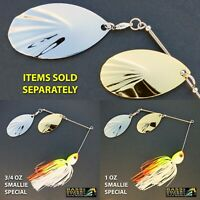 Bassdozer spinnerbaits FLUTED SMALLIE SPECIAL spinnerbait spinner bait baits