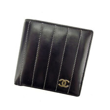 Auth CHANEL wallet New Mademoiselle line used Y4801
