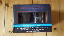 BLADE RUNNER 2049 3D+2D Blu Ray Steelbook & Whisky-Gläser NEU&OVP