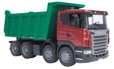 BRU3550 - Camion 8x4 SCANIA avec benne verte JOUET bruder - 1/16