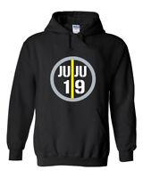 """JuJu Smith-Schuster Pittsburgh Steelers """"Juju 19"""" Hooded Sweatshirt Hoodie"""