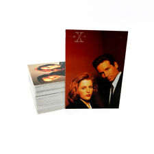 1996 Topps The X-Files Season 3 Trading Card Set (72) Nm/Mt