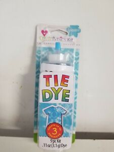 Tie Dye 9 Pc Kit Turquoise Create Up To 3 Projects by Create Basic Ships Free