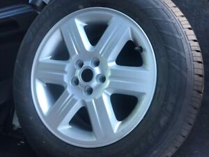 LAND ROVER FREELANDER 06 TO 10 ALLOY WHEEL 17 INCH 6H521007MD BREAKING WHOLE CAR