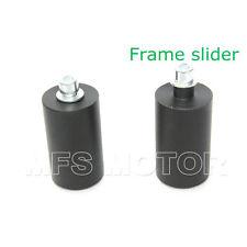 No Cut Frame Slider Protector para 1996-2007 04 2005 2006 Yamaha YZF 600R Negro
