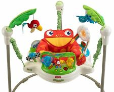 Fisher Price- Rainforest Jumperoo Baby Activity Jumper - Model K6070 -