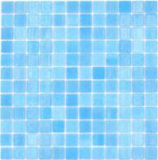 Glasmosaik Mosaikfliesen Türkis Pool Schwimmbadmosaik Duschboden | 10 Matten