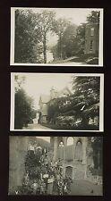 Wales Denbighshire LLANGOLLEN x3 1935 RP PPCs CHA Guest House
