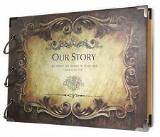 Wedding Gift For Bride And Groom Couple Anniversary Romantic Scrapbook Album DIY