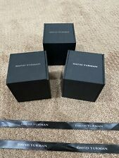 David Yurman Set Of 3 Gift Boxes With 3 Ribbon