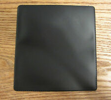1 NEW VINYL BLACK CHECKBOOK COVER WITH DUPLICATE FLAP CHECK BOOK COVERS