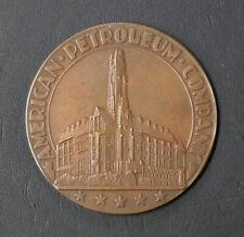 American Petroleum Company - APC - Bronze Medal - Vintage Early 20th Century