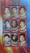 Taikonauts Chinese astronauts China space m/s Somalia 2010 MNH #L229