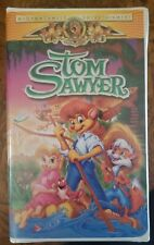 MGM Tom Sawyer VHS Cartoon Movie Complete Very Good $10 Betty White Don Knotts
