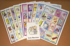 Despedida de Soltera Mexican Loteria Bingo Game in SPANISH card. 10 players game