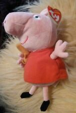 Ty Beanie Babies Pink Peppa Pig 8 inch Tag Intact