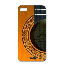 "CUSTODIA COVER CASE CASSA CHITARRA LEGNO PER iPHONE 6 4.7"""