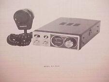 1977 PANASONIC CB RADIO SERVICE SHOP MANUAL MODEL RJ-3100