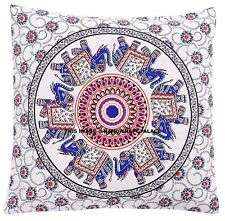 Indian Mandala Pillows Cases Sqaure Floor Bohemian Home Sofa Car Cushion Cover